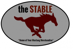 Mustang gear available through the Stable online store