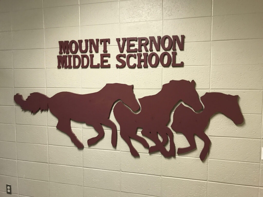 Website MVMS mustangs east hallway scaled[1]